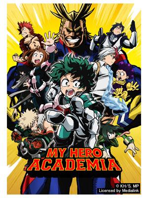 Poster of My Hero Academia Season 1 - Eps 8: Bakugos Start Line