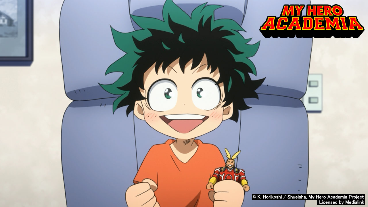 Poster of My Hero Academia Season 1 - Eps 12: All Might