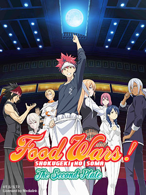 Poster of Food Wars - The Second Plate Eps 3: The Age of Kings