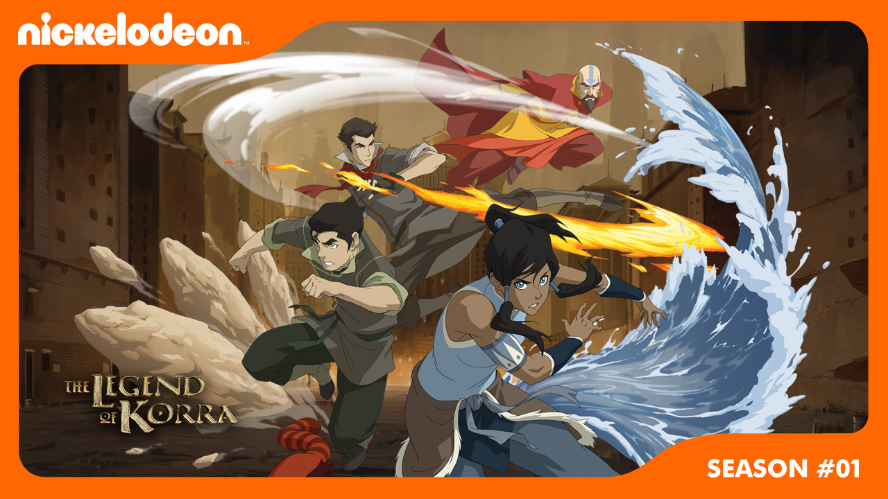 Poster of The Legend of Korra Season 1 Eps 9 - Out of the Past