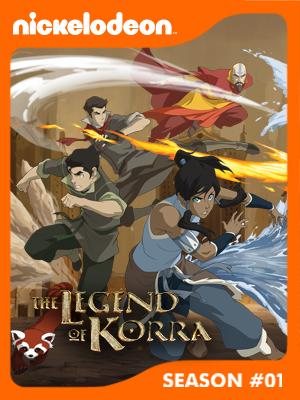 Poster of The Legend of Korra Season 1 - Light in the Dark
