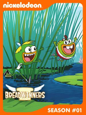 Poster of Breadwinners Season 1 - Love Loaf / Beach Day… of Horror