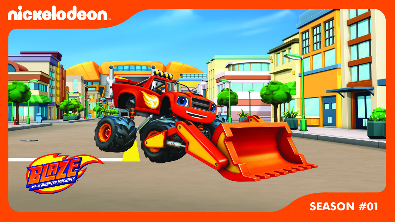 Poster of Blaze and the Monster Machines Season 1 - The Driving Force