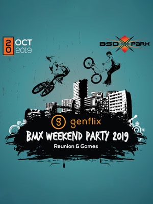 Poster of Genflix BMX Weekend Party 2019 - Eps 3