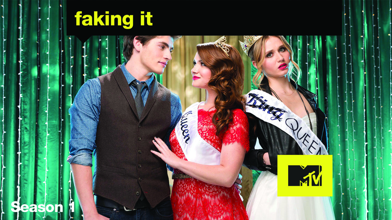 Poster of Faking It Season 2 Eps 3 - Lying Kings and Drama Queens