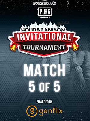 Poster of Match 5 PUBGM BSC Holiday Season Invitational Tournament